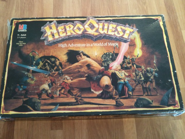 Boxed Set of HeroQuest