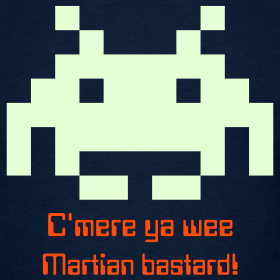 Space Invaders awa tae get malied