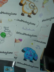 Cloud Monkey Colouring Competition